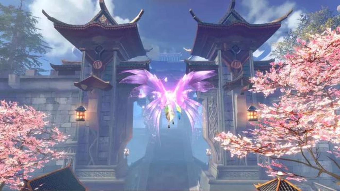 图片为游戏《完美世界》截图