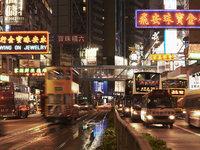 香港、上海、深圳的格局