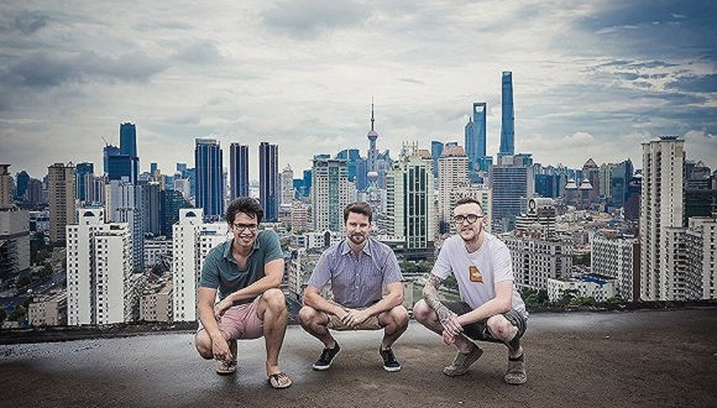 Baopals三位創始人: Charles Erickson、Jay Thornhill和Tyler McNew。圖片來源︰Baopals