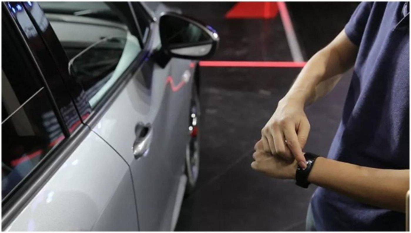 手环解锁汽车