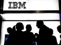 IBM 坐看云起,蓝色泛白