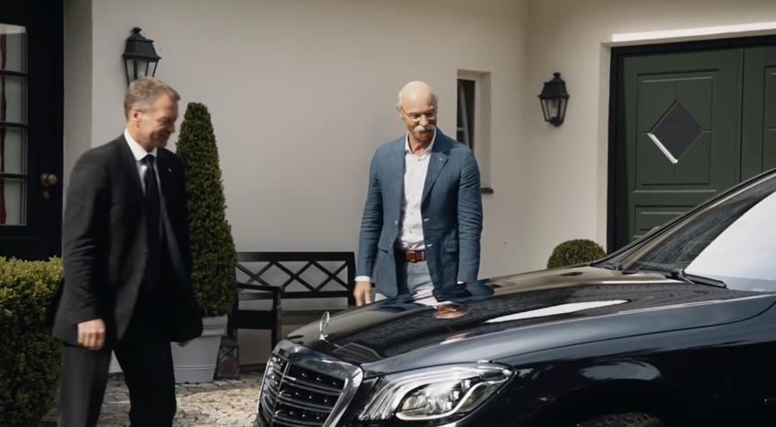 【钛媒体视频】奔驰CEO退休,宝马致敬:终于可以开宝马出门了