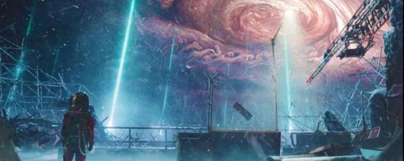 《流浪地球》里的行星发动机附近也出现了契伦科夫辐射