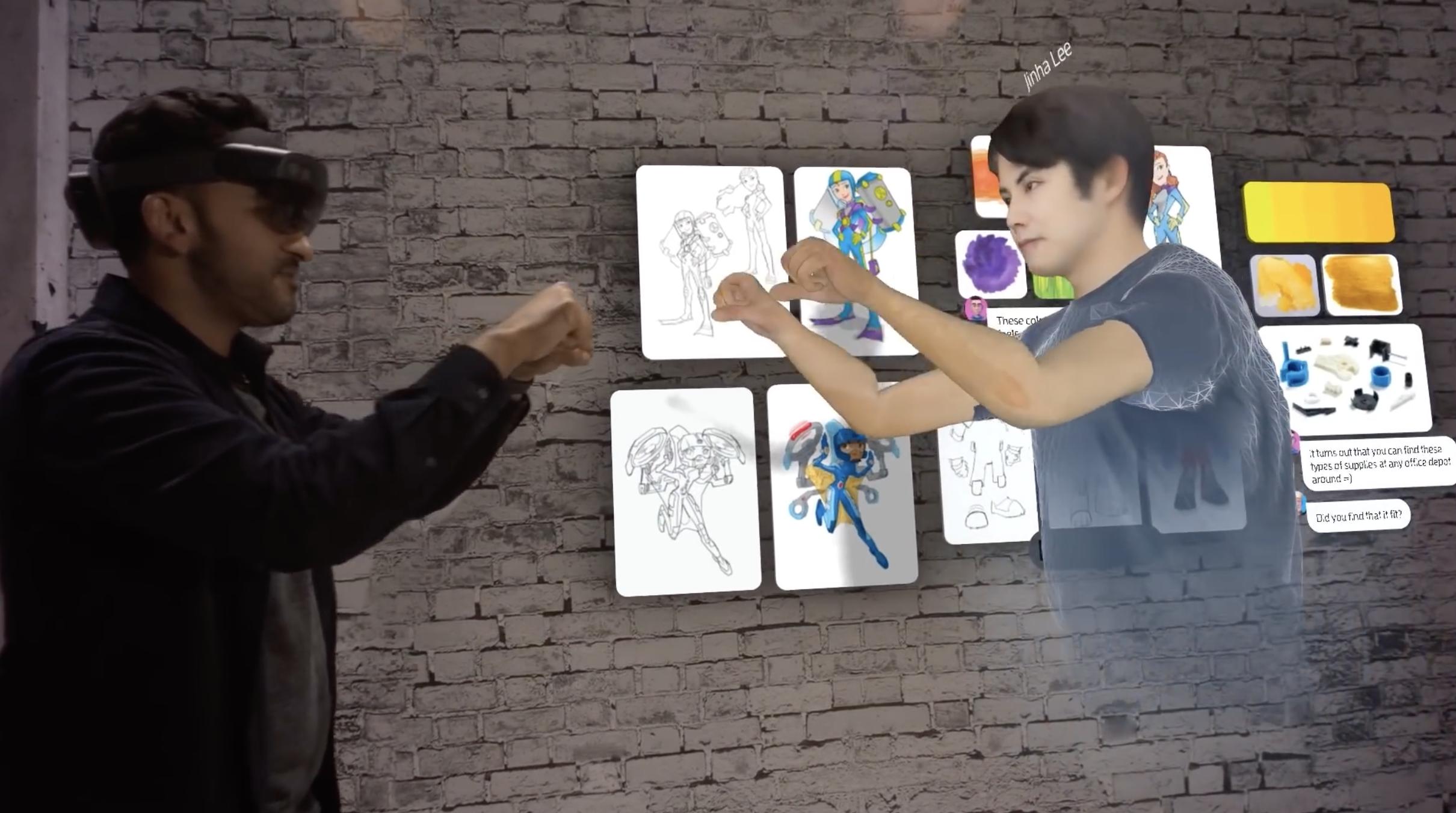 【钛媒体视频】微软HoloLens 2将发售,MR协同办公展示