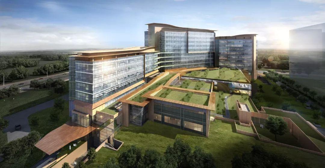 建设中的广州泰和肿瘤医院。图片来源:泰和诚集团