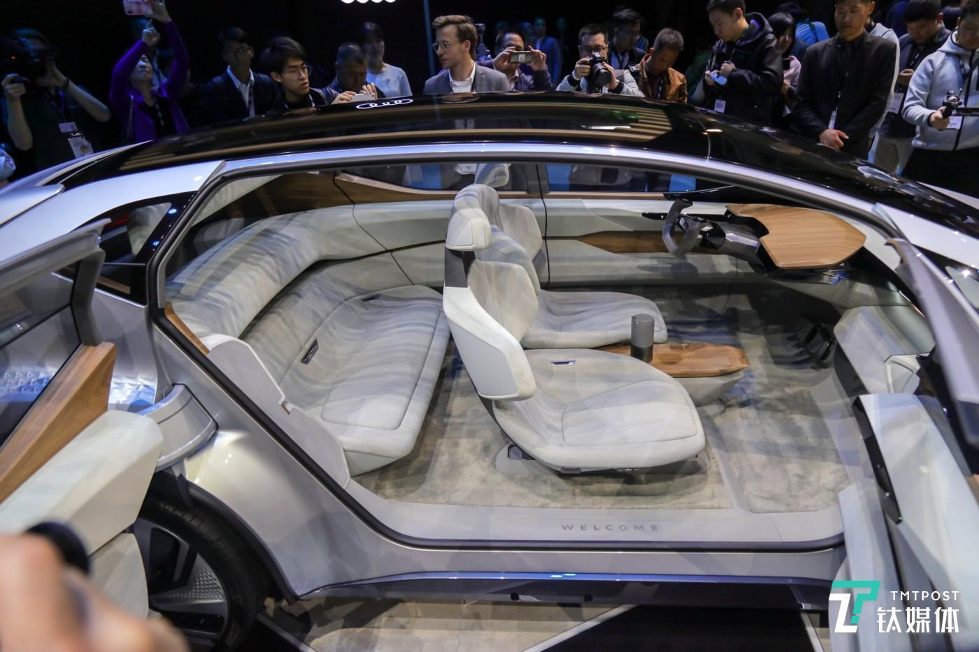 奥迪新一代车载智能互联技术