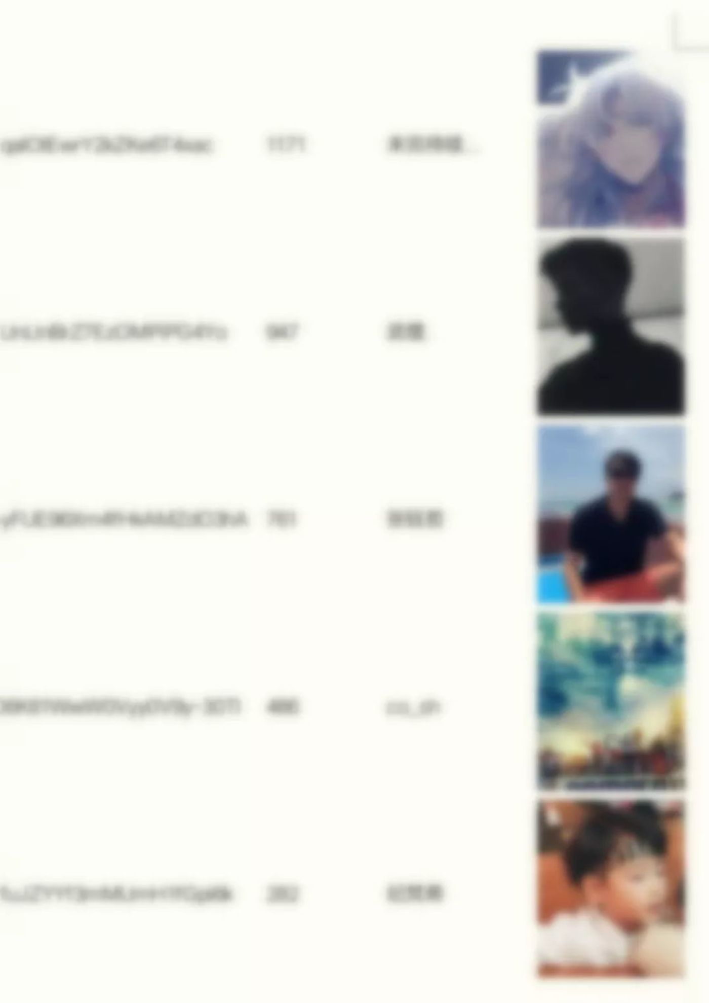 This is a partial screenshot of the avatar and ID to avoid unnecessary information disclosure. I blur the picture here.