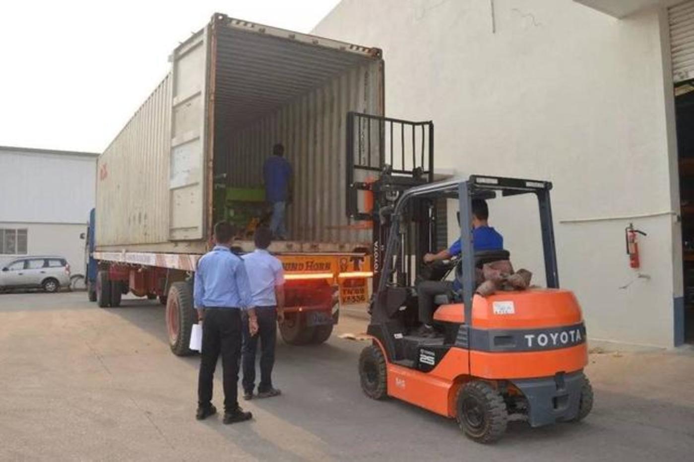 佛山日鋼從國內進口的新設備