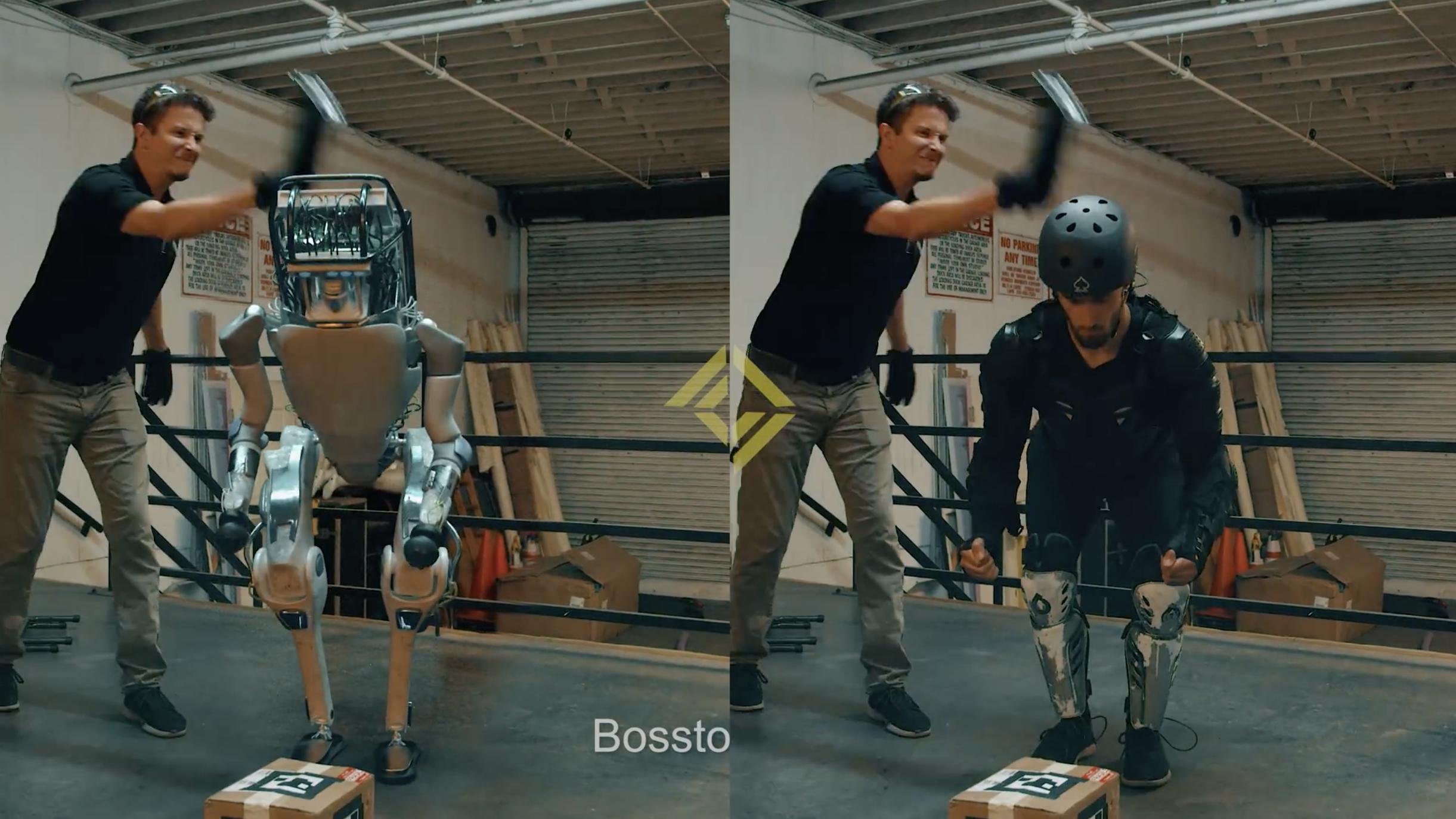"""【钛媒体视频】演个""""波士顿机动力器人"""",他可没少受苦"""