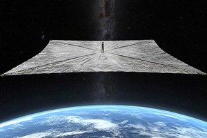 """【钛媒体图集】美国将发射不用燃料的""""太阳帆""""飞行器"""