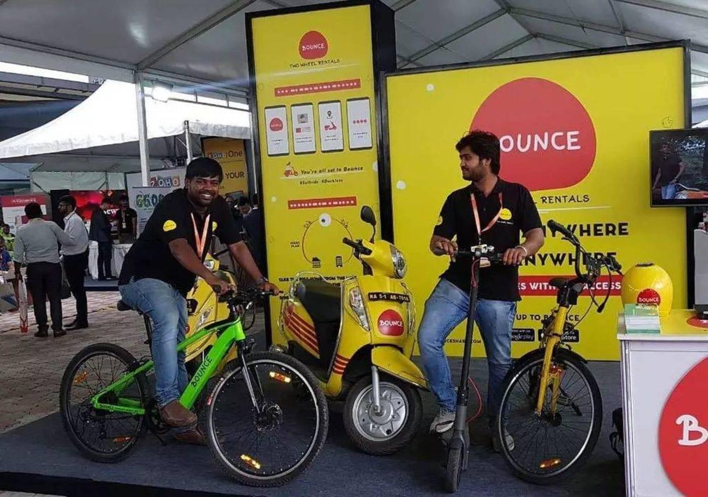 ofo退出印度后,单车被共享踏板车公司Bounce回收