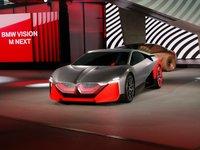 BMW Vision M NEXT概念车,超炫战斗机座舱显示系统