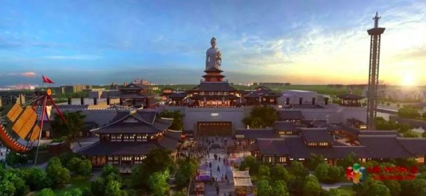 华谊兄弟电影世界(苏州)通天帝国区