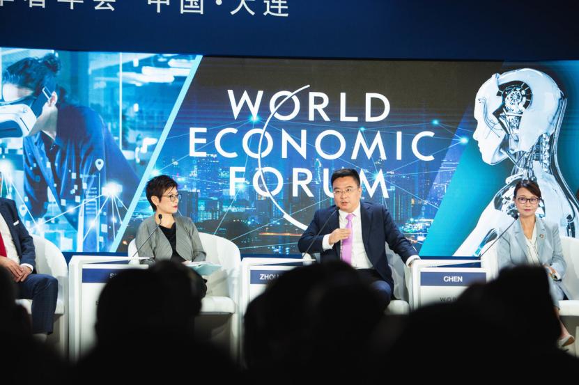 專訪京東周伯文:將在上海建立5G工業園區,5G是AI的新動能   直擊達沃斯