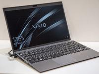 重量只有897克,却能成为办公主力,VAIO发布SX12商务笔记本 | 钛快讯