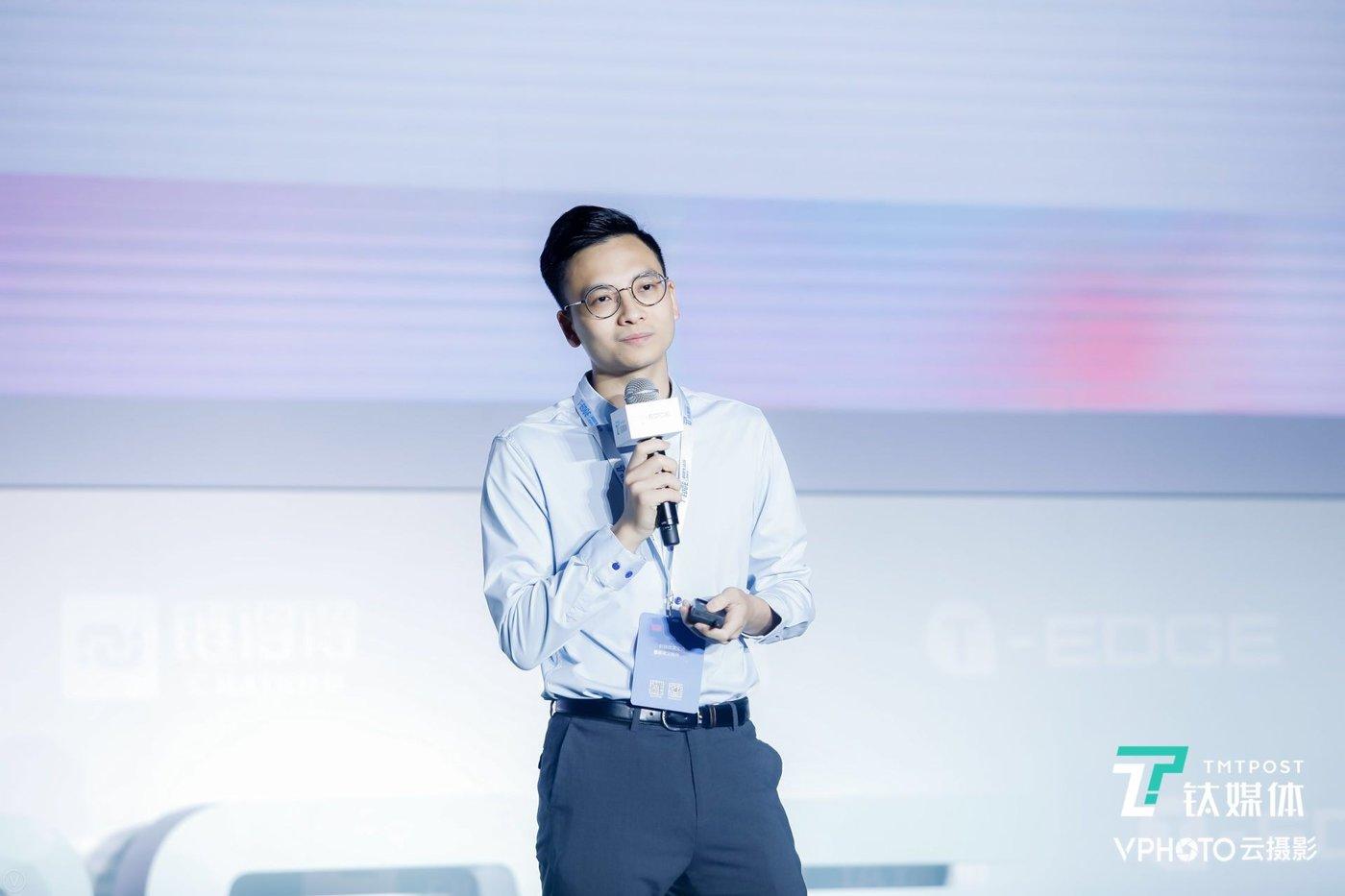 编程猫联合创始人、CEO李天驰在 2019 钛媒体 T-EDGE 科技生活节