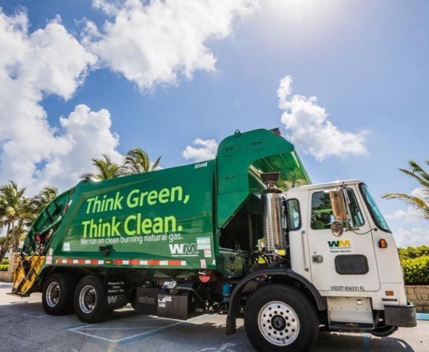 图片来自waste management官方