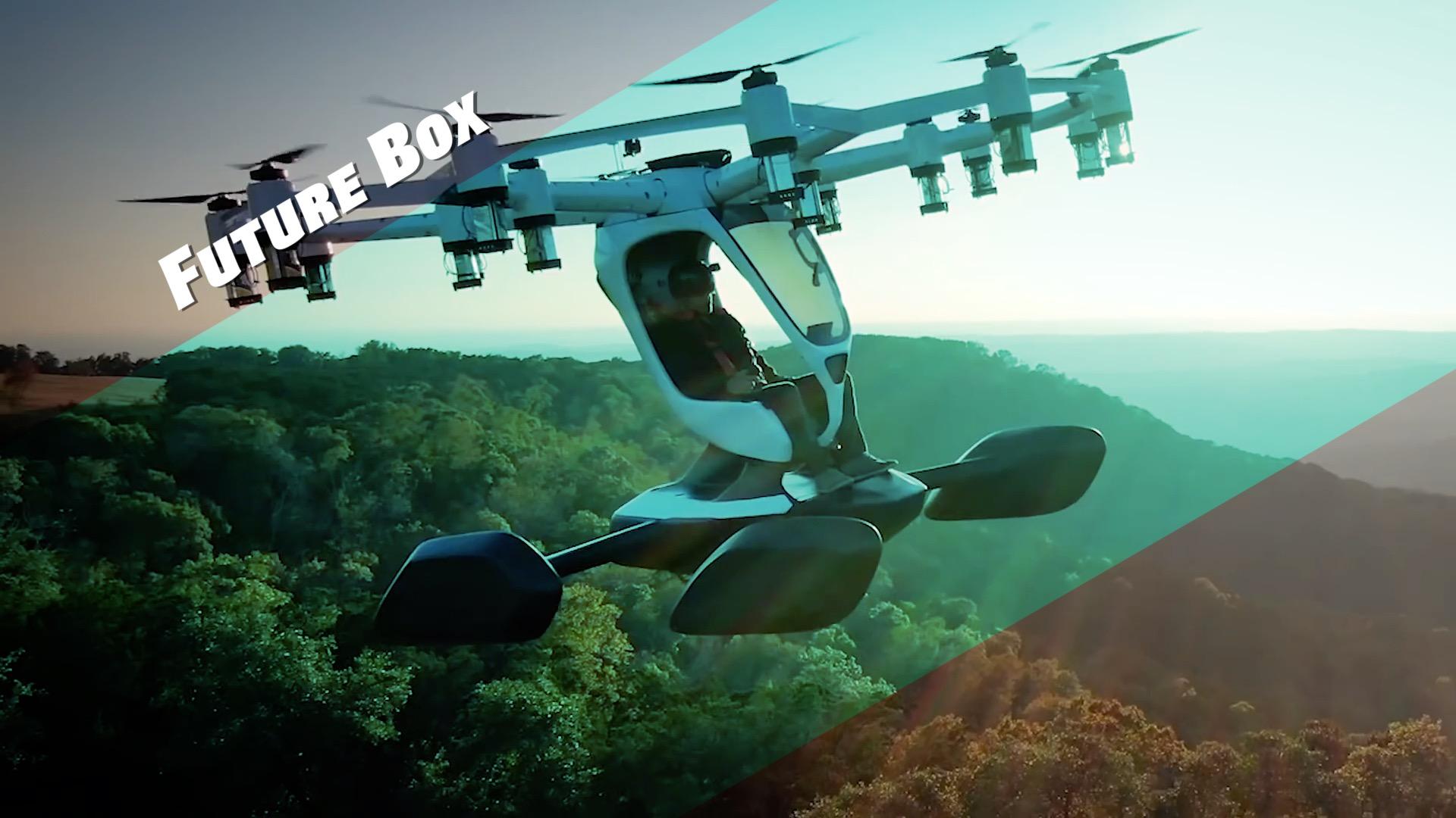 【钛媒体视频 Future Box】坐无人机上天?就是这15分钟续航太短了