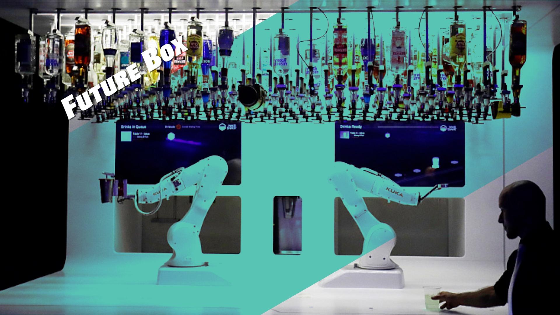 【钛媒体视频 Future Box】1小时调80杯,机器人调酒师上线