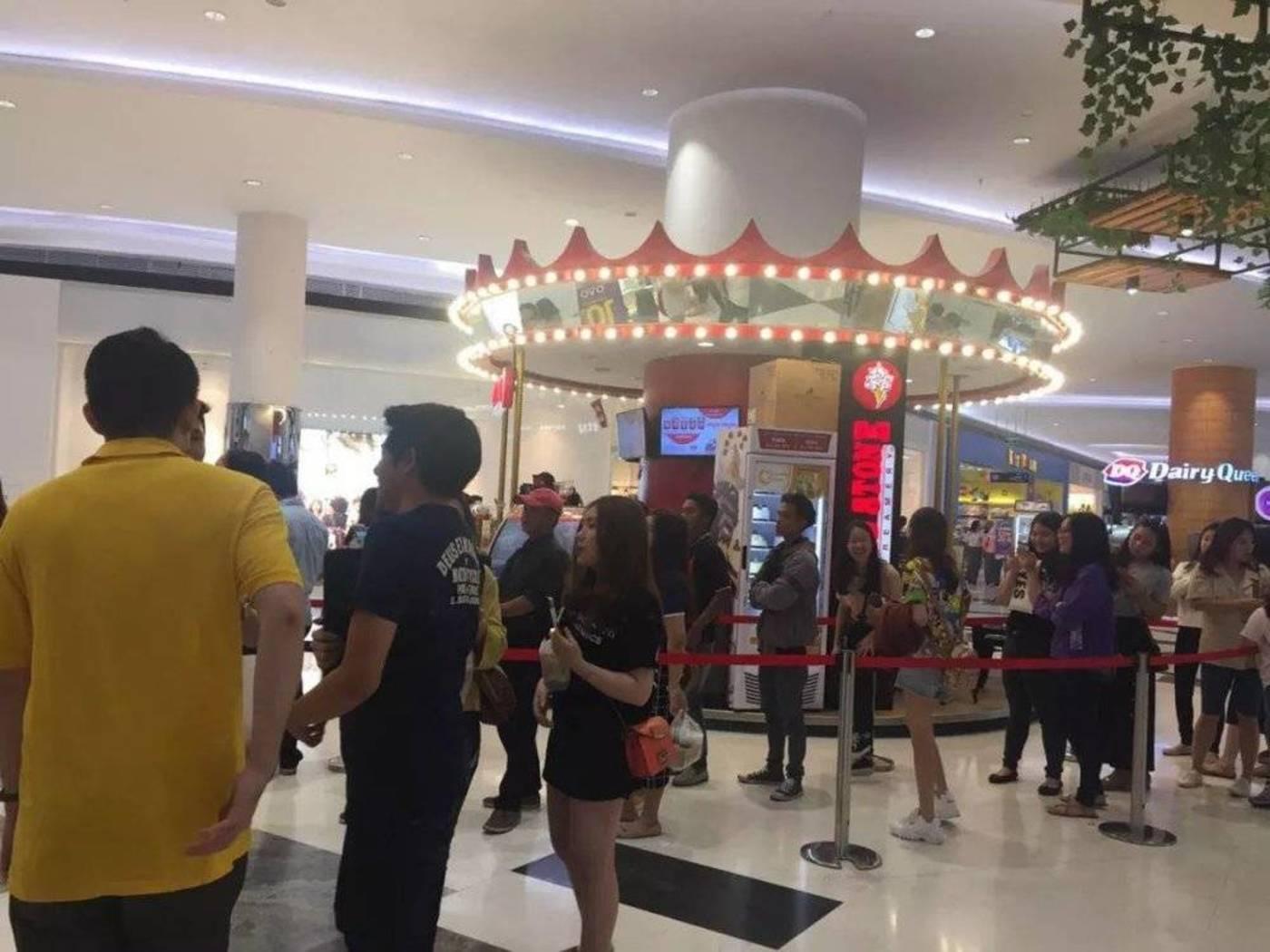 """在中文并不常见的印尼,这些奶茶店都叫""""幸福堂""""""""茶时代"""""""