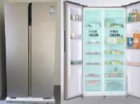 468L大容量對開門,蘇寧小Biu智能冰箱好用么?| 鈦極客