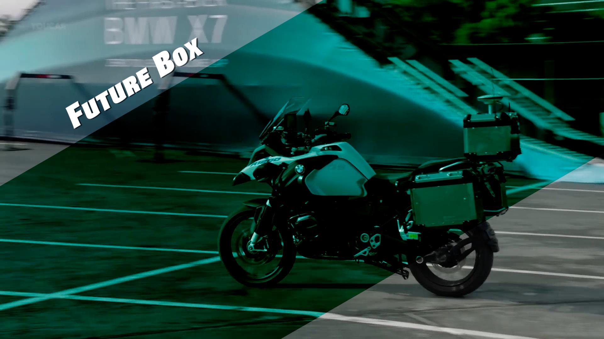 【鈦媒體視頻 Future Box】自動駕駛摩托車,寶馬造