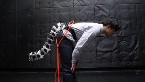 """【视频】人造""""机械尾巴""""可帮老人丢掉拐杖"""