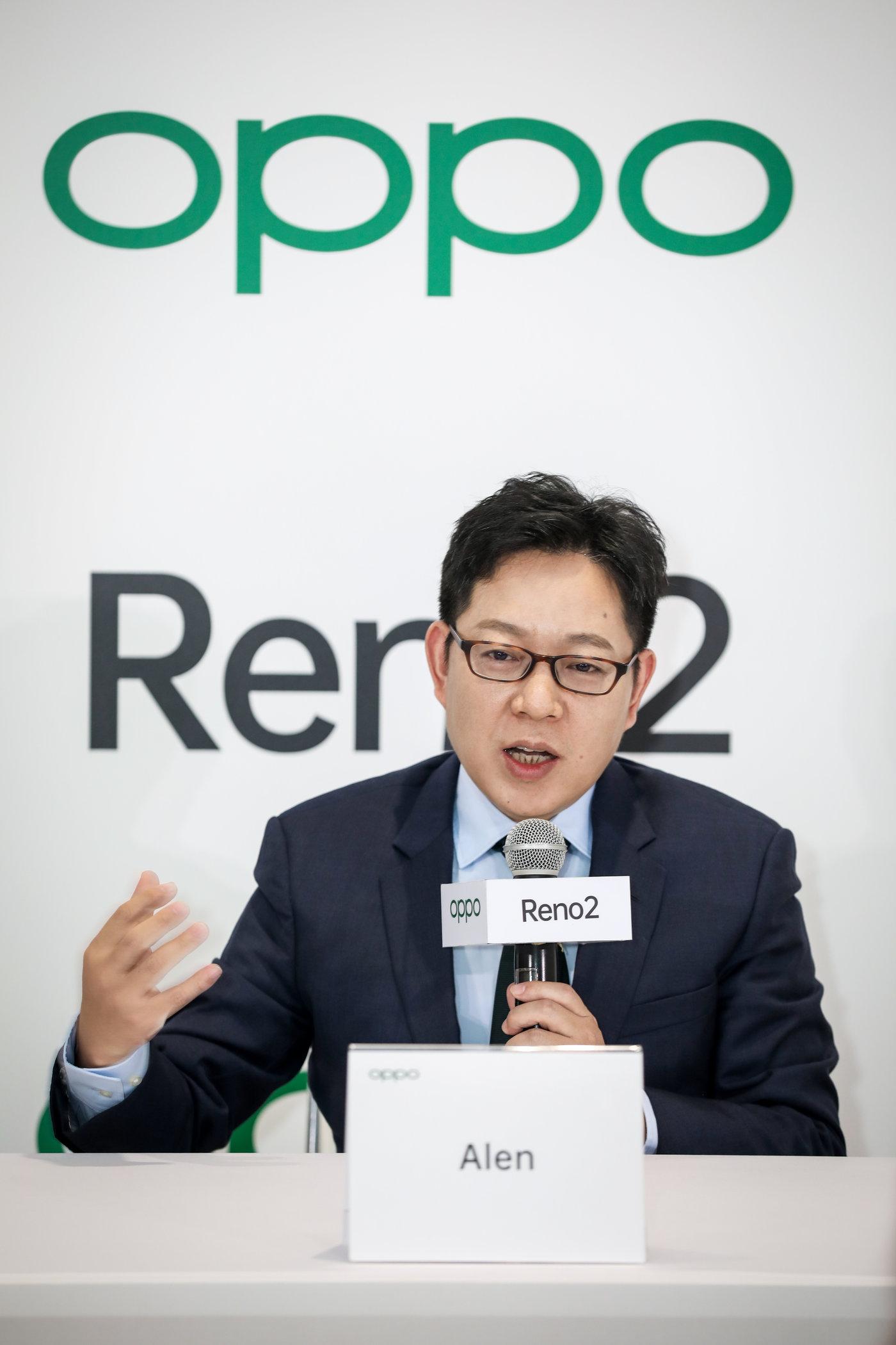 OPPO副总裁、全球销售总裁吴强