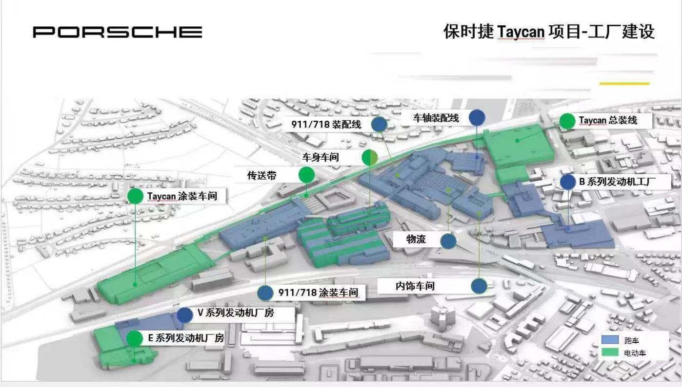 保时捷Taycan项目-工厂建设
