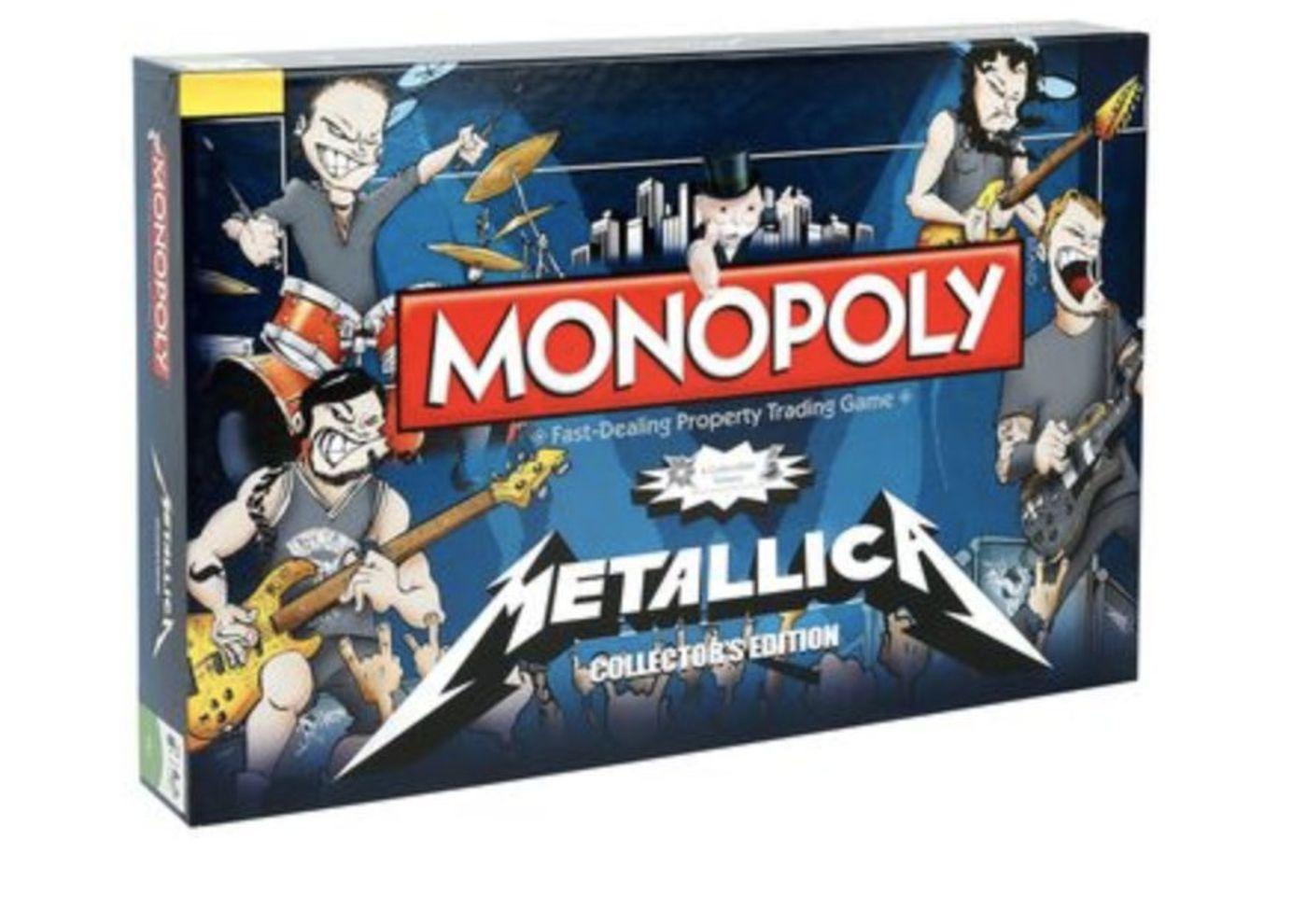 Metallica联名的棋盘游戏