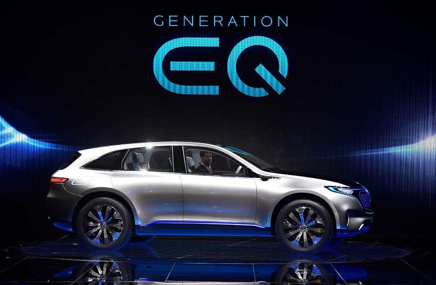 奔驰EQ电动概念车