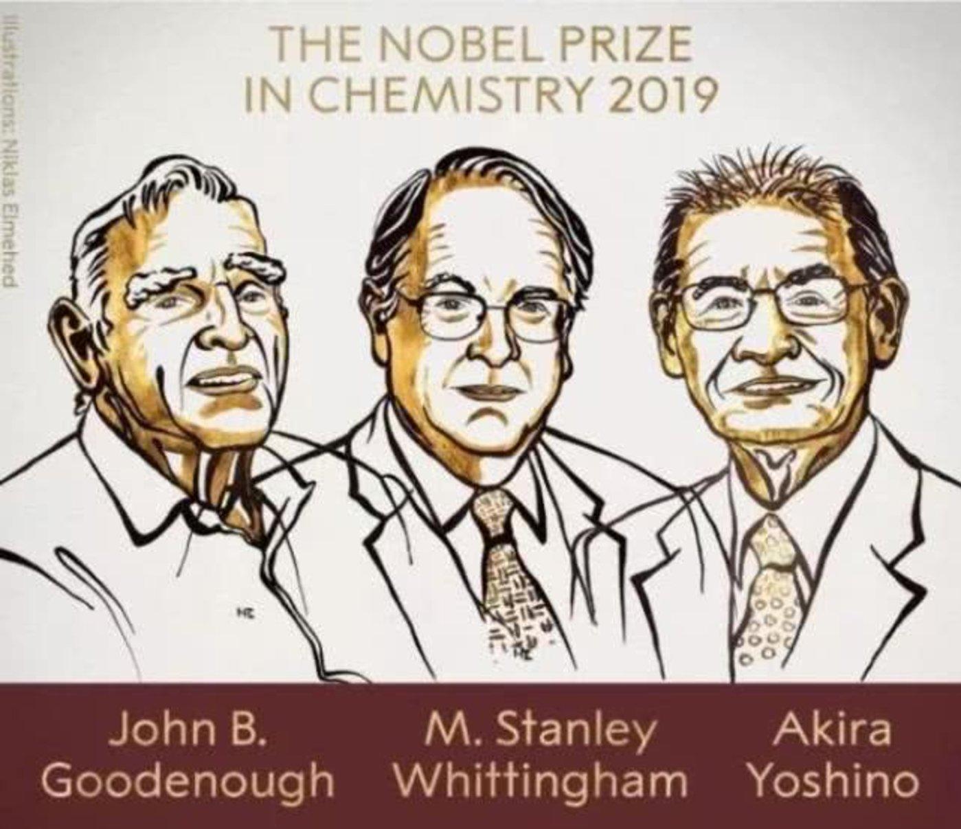 本届诺贝尔化学奖获奖者