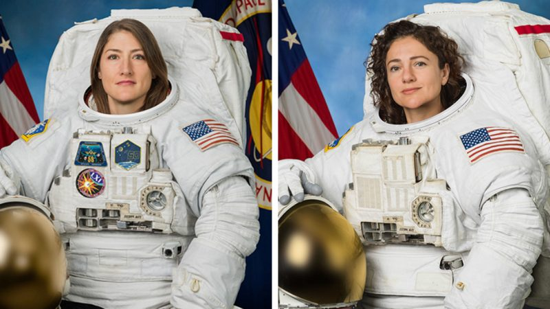 【视频】人类首次全女性太空行走来了!曾因宇航服问题取消计划