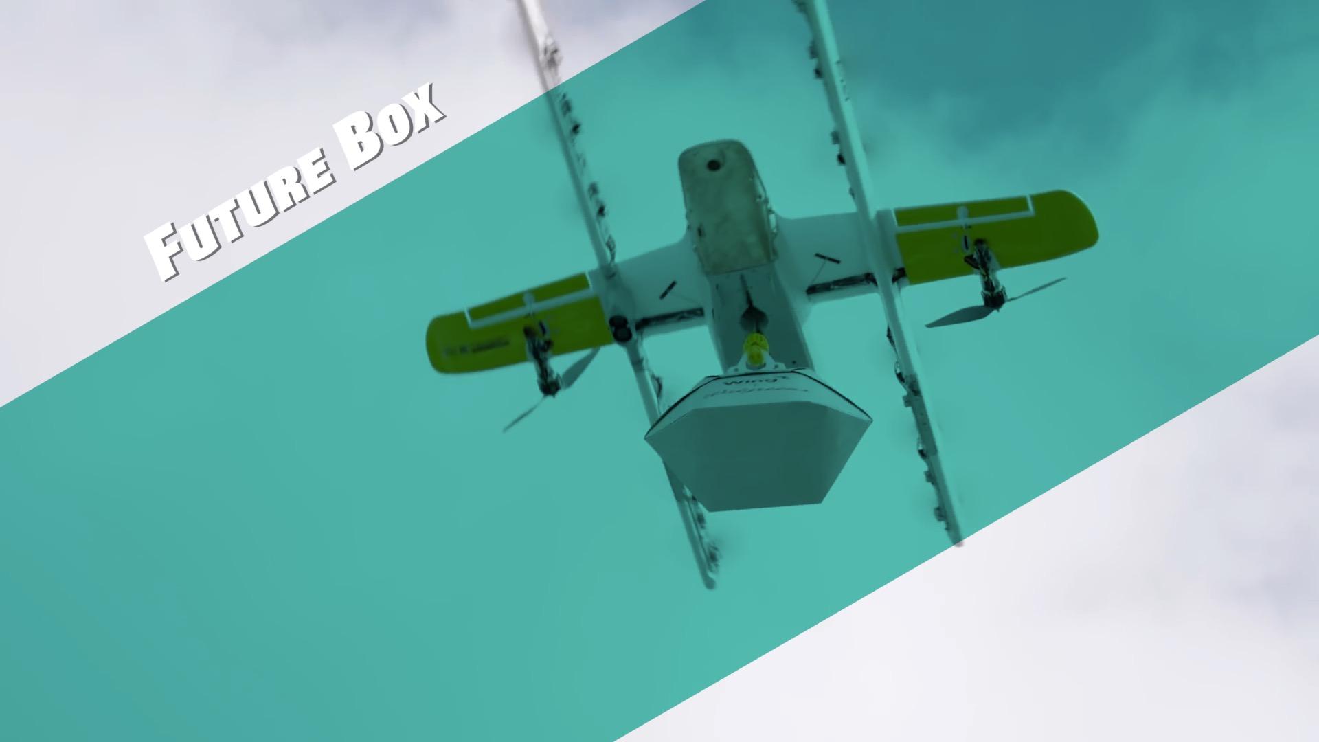 【钛媒体视频 Future Box】无人机快递在美商用,来自Alphabet旗下公司