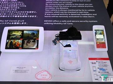 从电机制造到无人驾驶技术,电装展示全产业链出行黑科技