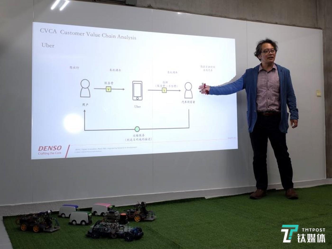 Takeshi Narisako, Director of MaaS R&D Division