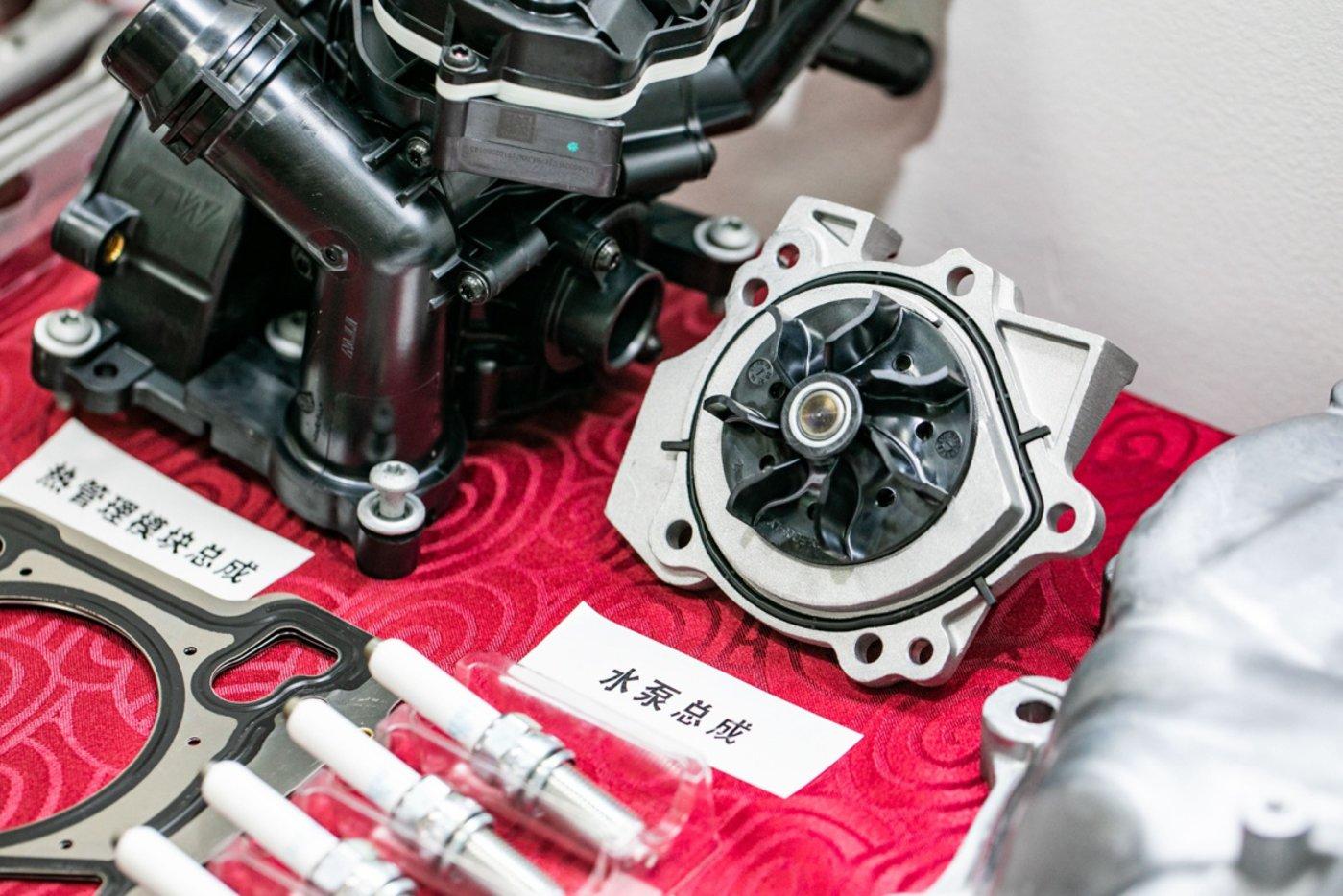 GW4C20B 2.0T汽油机零部件拆解展示