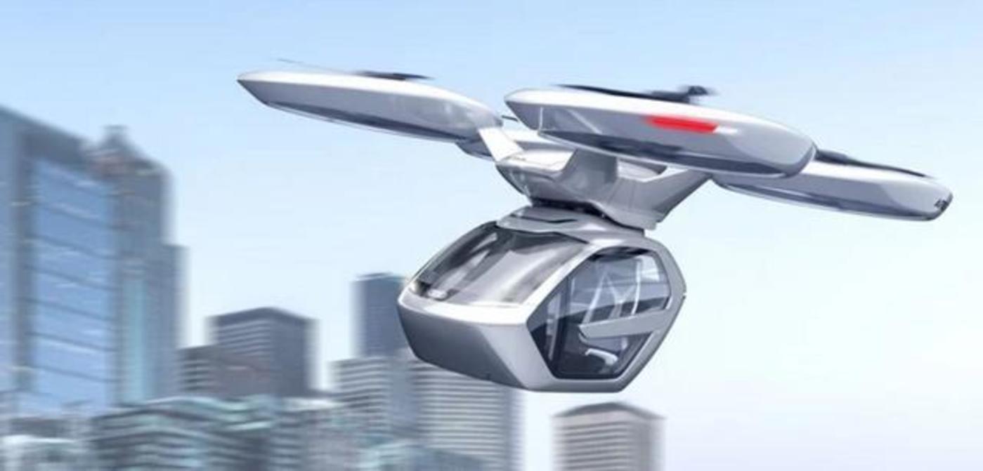 城市商业传说:打飞的吗,无人的那种?