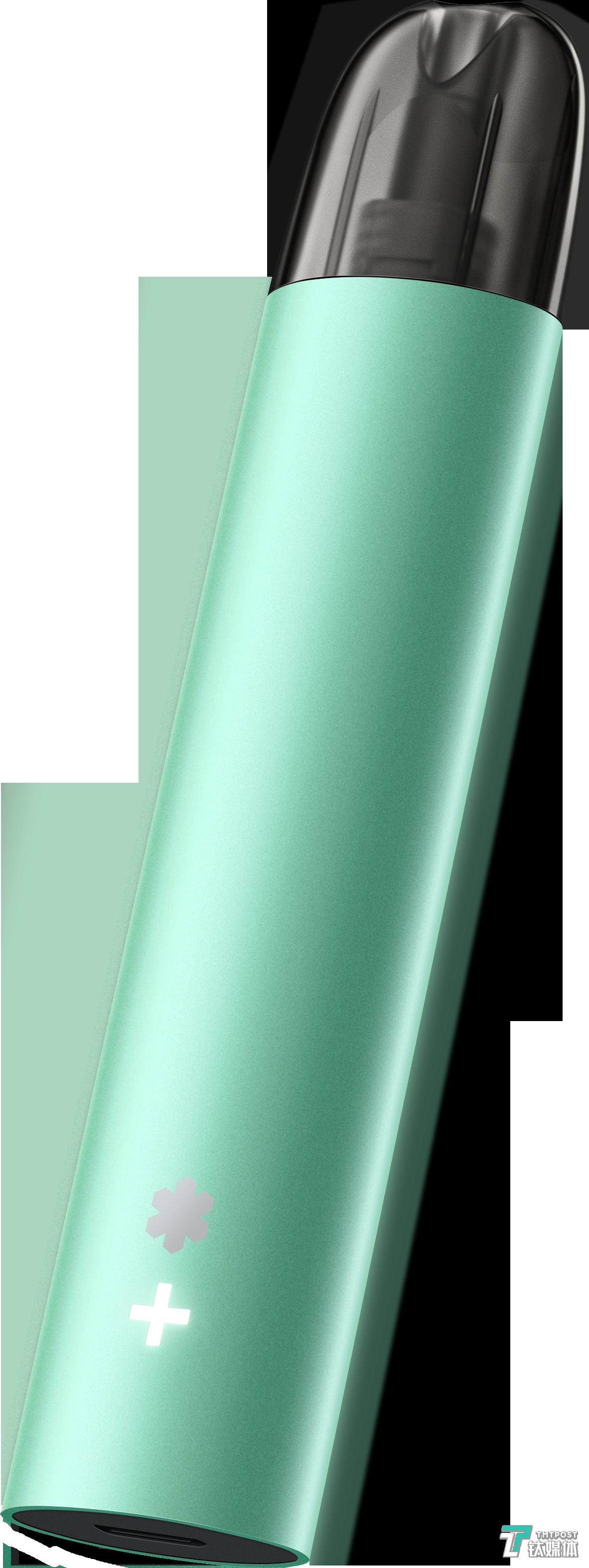 """一款名為""""雪加Lite""""的換彈式霧化電子煙"""