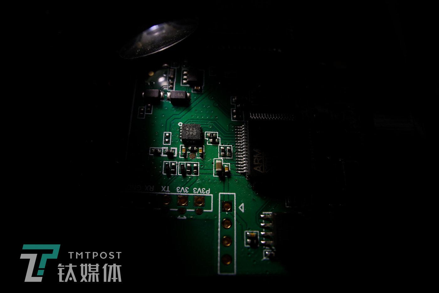 机械指挥官智能终端Z03.0智能终端电路板。