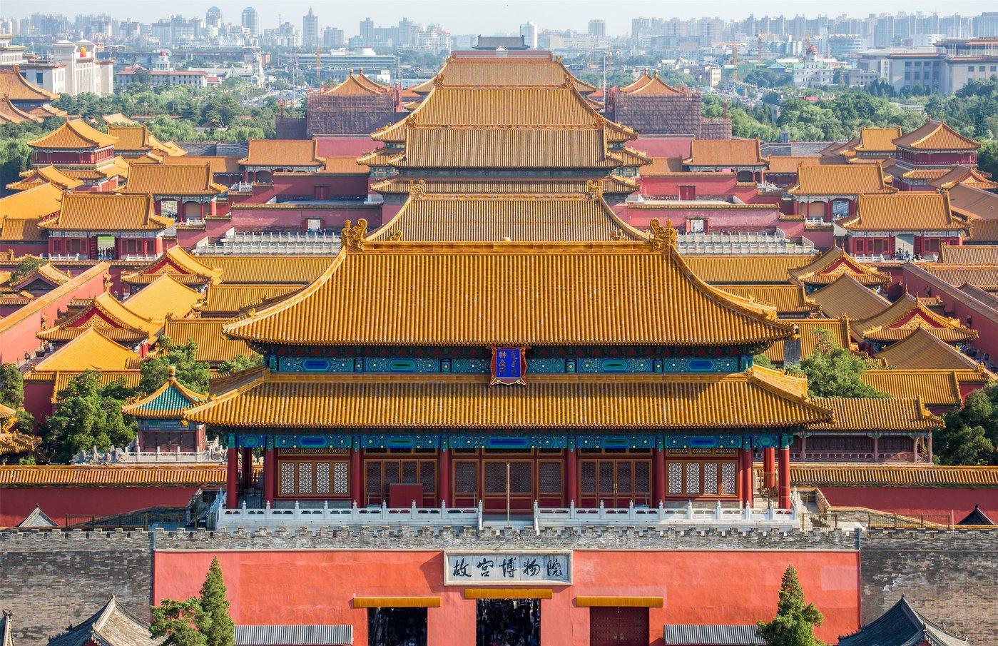 故宫博物院,图片来源@全景视觉