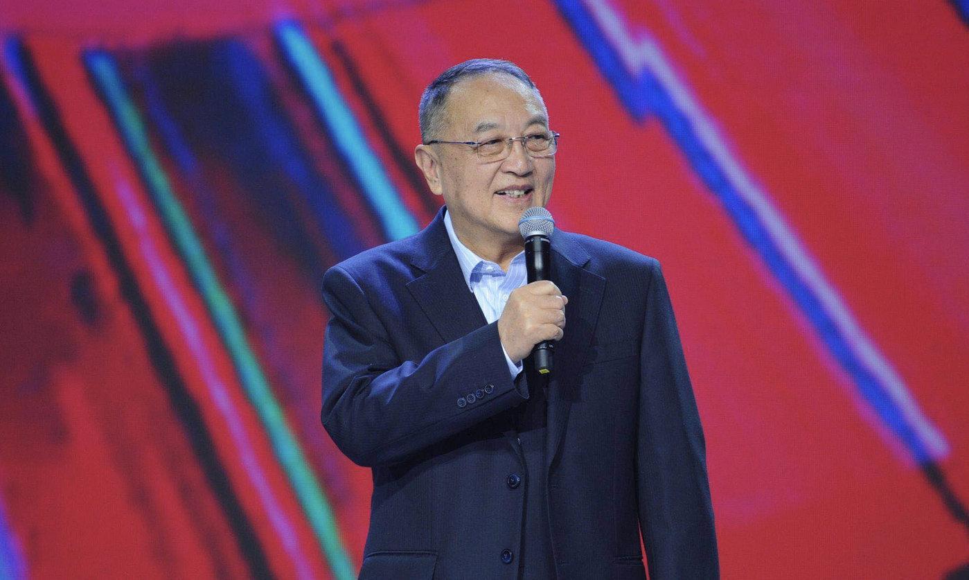 图为联想集团创始人、联想控股董事长柳传志