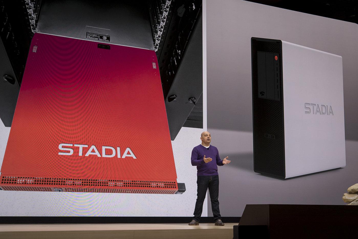Google Stadia,图片来源@视觉中国