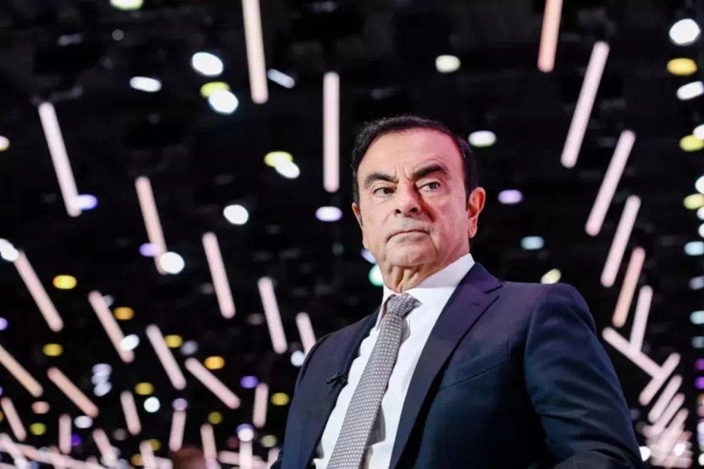 日产汽车前CEO卡洛斯·戈恩,图片来源@视觉中国