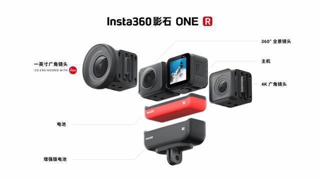 Insta360发布首款模块化运动相机One R|CES 2020