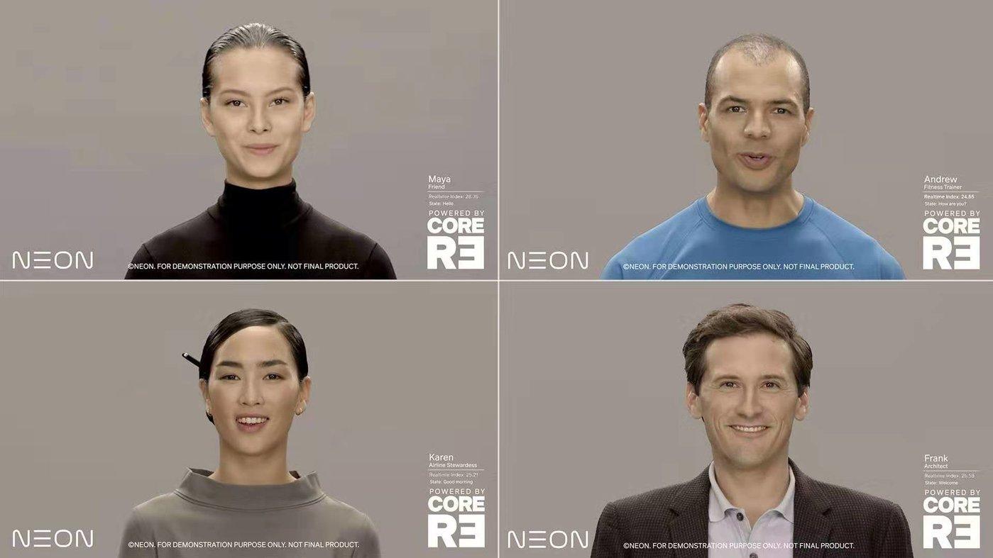 NEON人工智人在CES 2020
