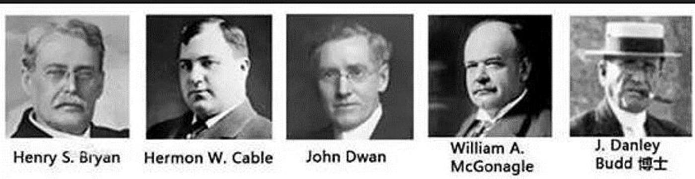 3M的五位创始人