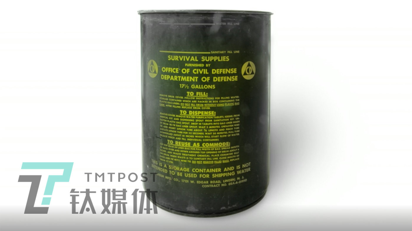 核战争求生桶。