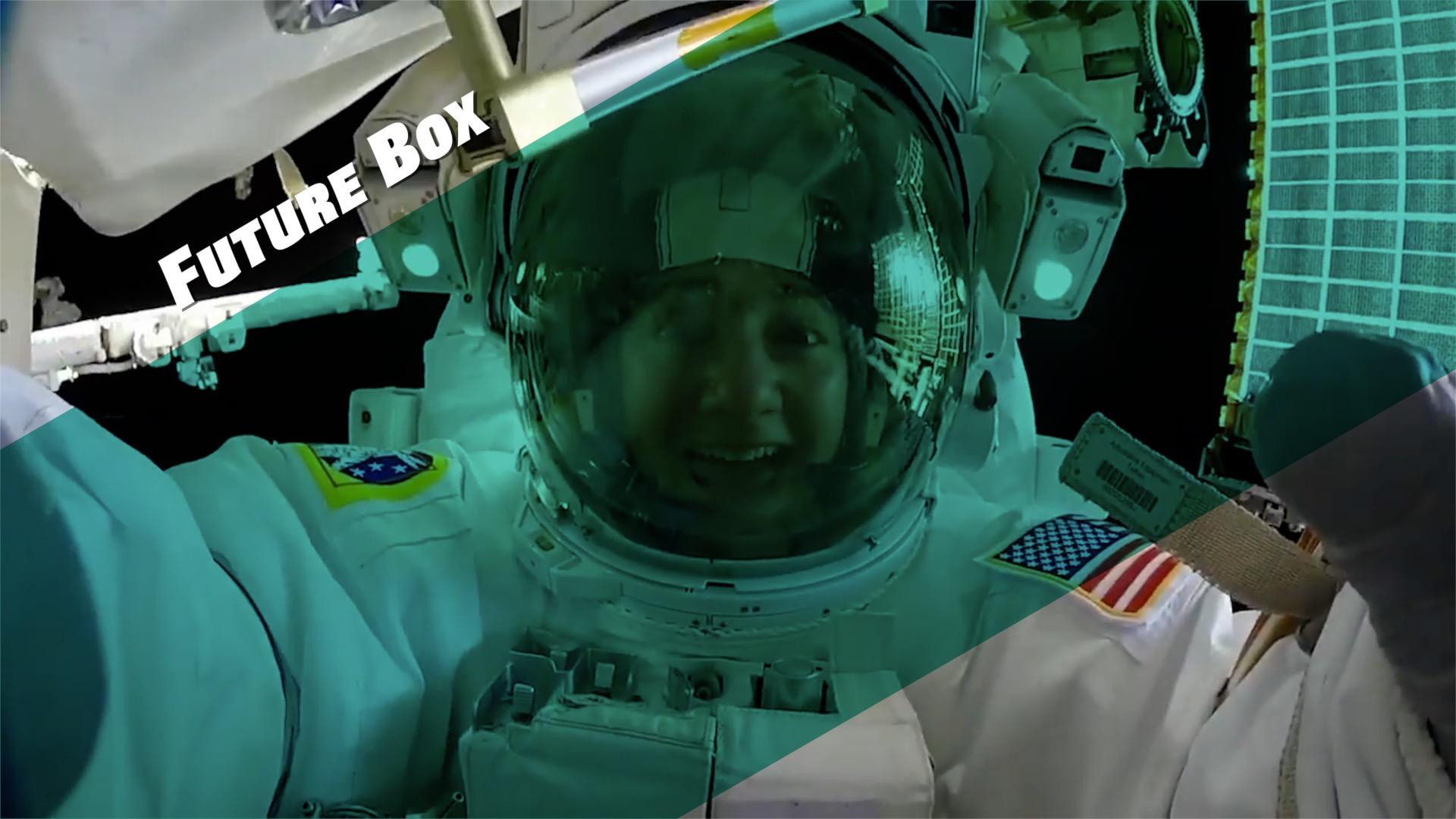 【钛媒体视频】328天!离开地球最久的女人回到地球!