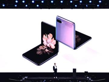 【图集】三星新旗舰发布:柔性屏让手机回归翻盖,8K拍摄不是梦